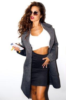 Fashion glamour woman