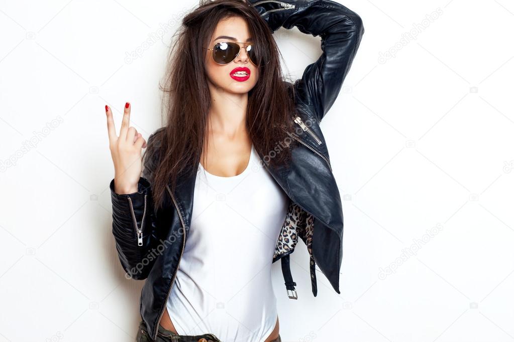 Sexy fashion sensual woman