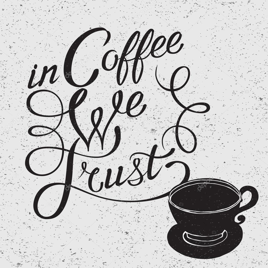 Frases Para Imprimir En Tazas Iillustration De Café Taza