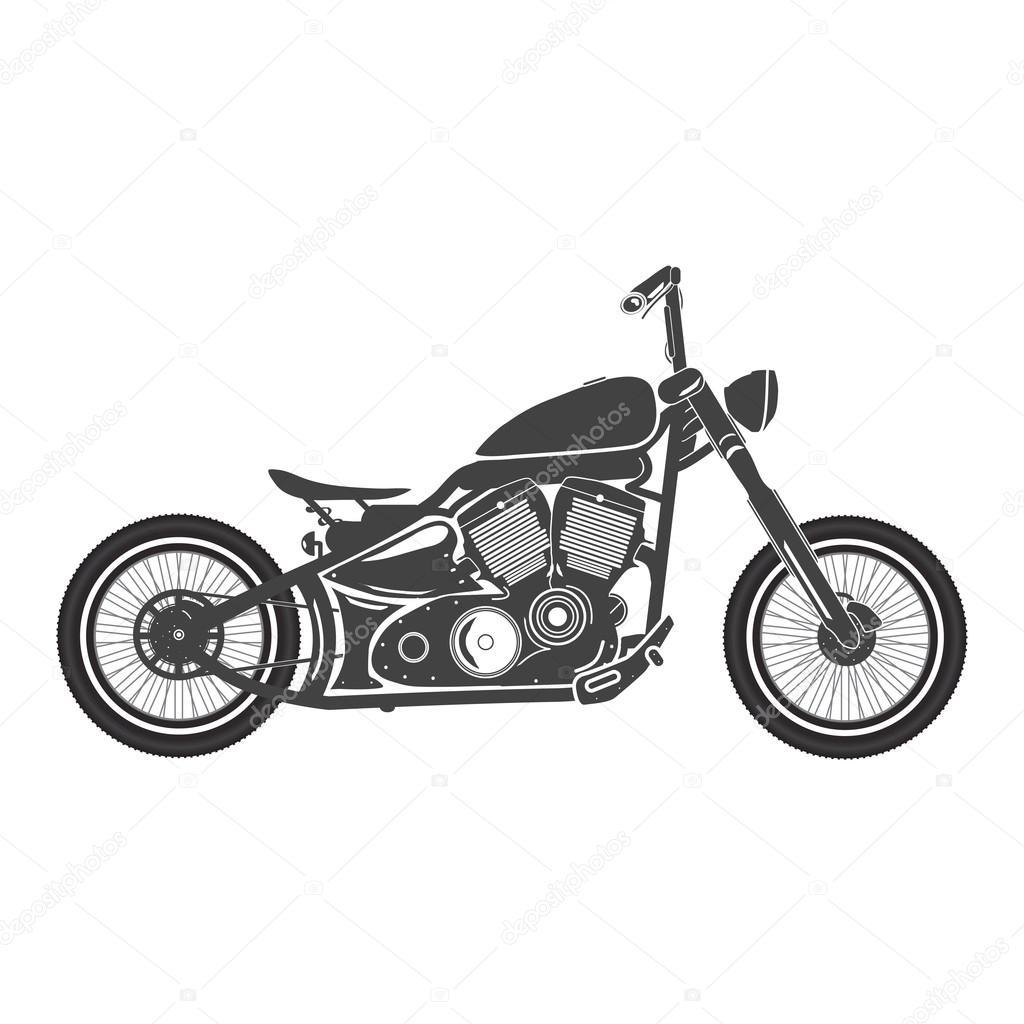 altes fahrrad oldtimer bobber caf racer thema. Black Bedroom Furniture Sets. Home Design Ideas