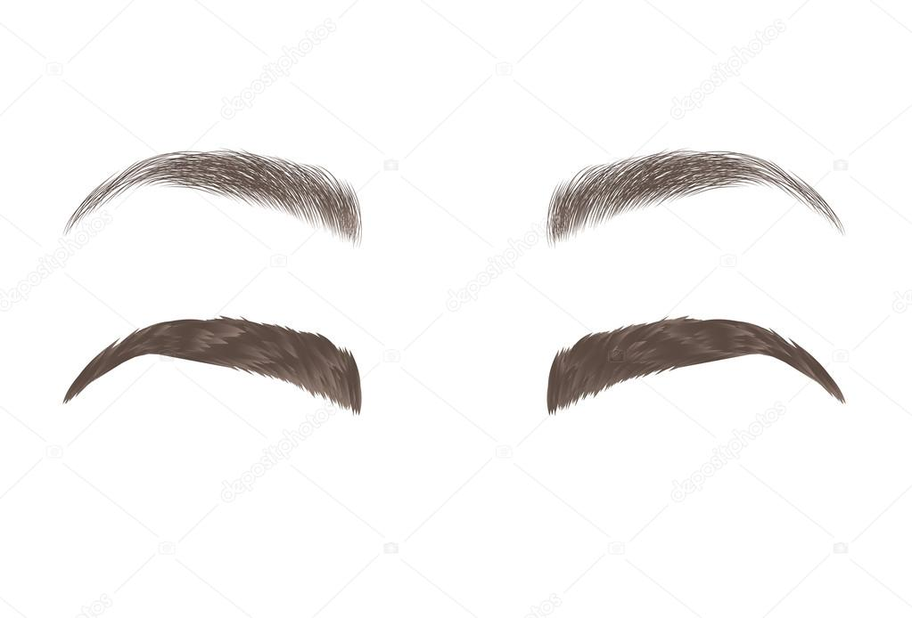 Eyebrows Stock Vectors Royalty Free Eyebrows Illustrations