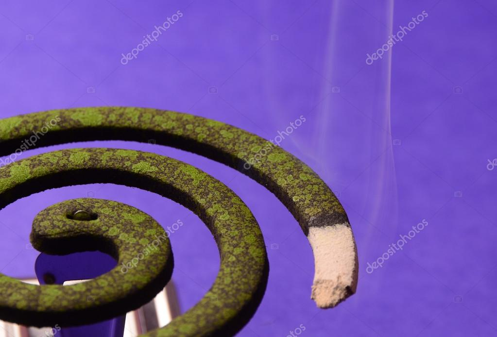 Burning mosquito coil, Mosquito coil is mosquito-repelling