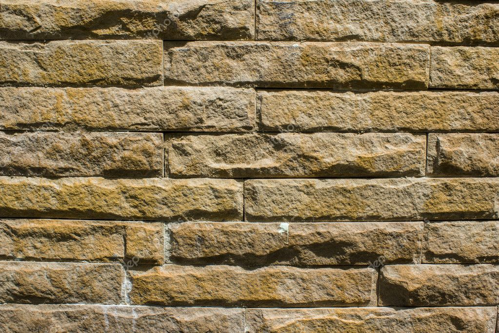 The background texture of a brick wall.