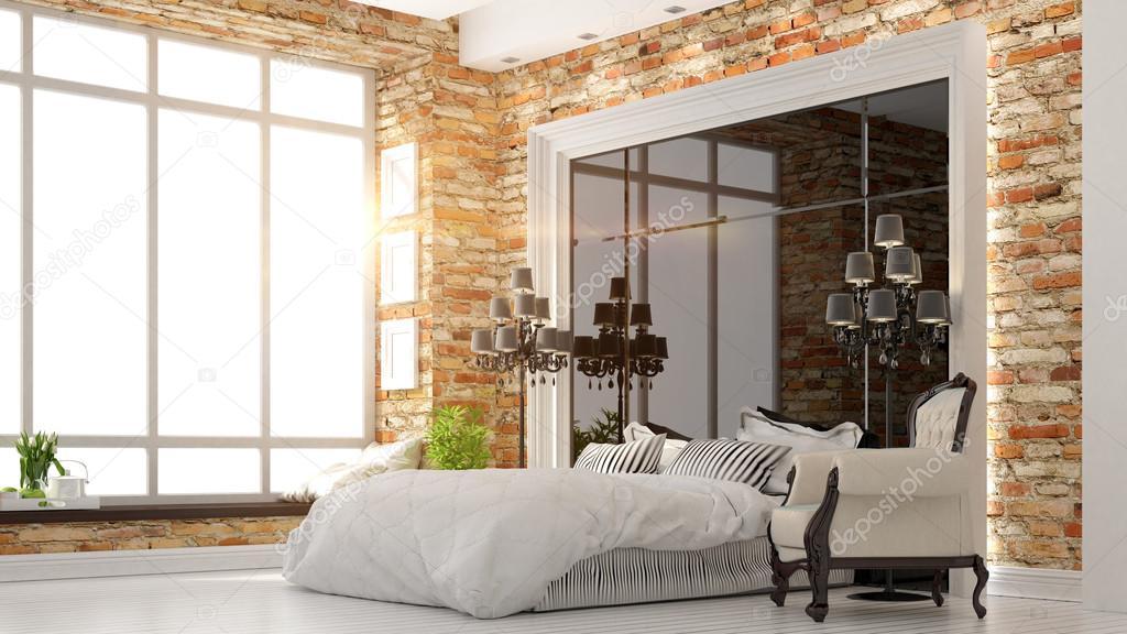 intérieur de belle chambre moderne — Photographie elsar77 © #77312820