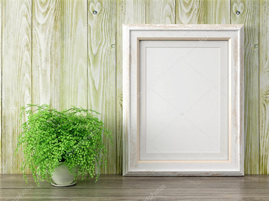 Leere modern Style Rahmen, 3d render — Stockfoto © elsar77 #96900018