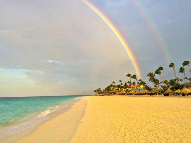 arcobaleno ad Aruba