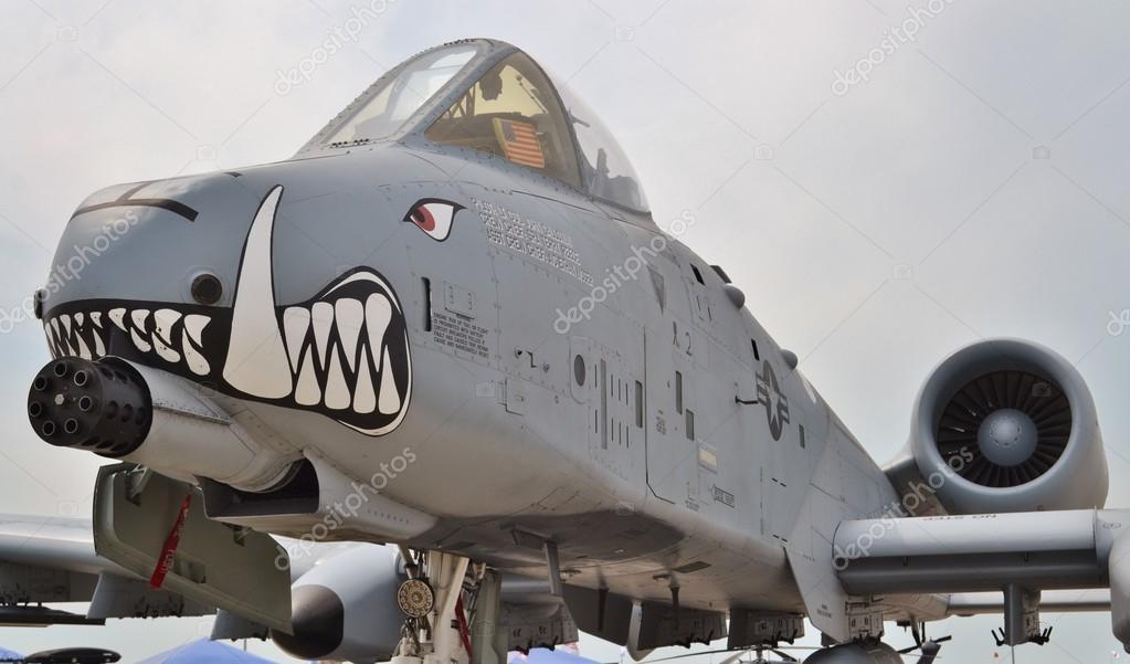 Фэйрчайлд самолет. Бородавочник A-10 Thunderbolt Ii ...