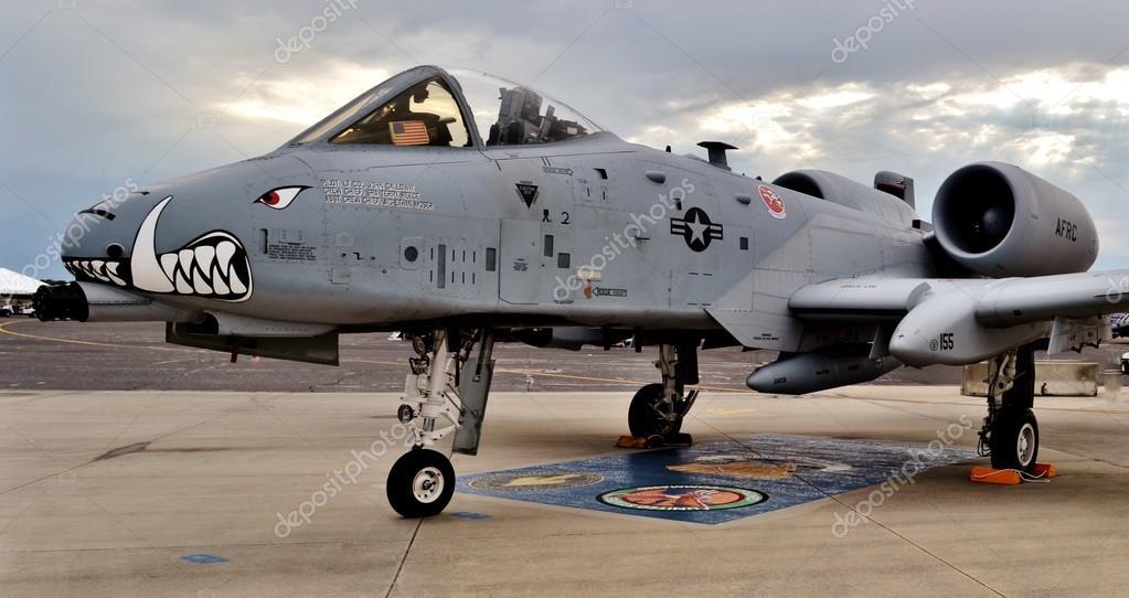 A-10 Warthog Thunderbolt II Airplane – Stock Editorial ...