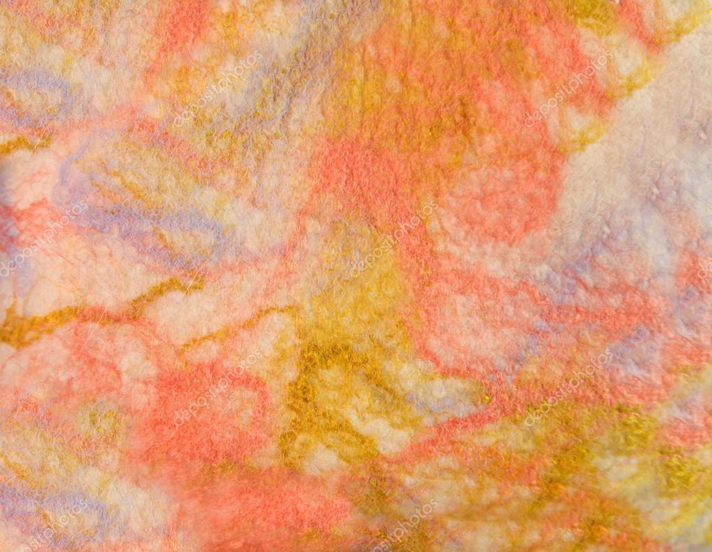 Текстура кольорові Валяне тканина пофарбована овечої вовни і віскози —  стокове фото c0ee26cc91ed6