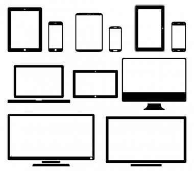 Screens - icon set