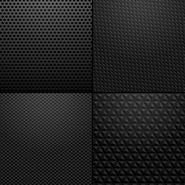 Carbon and Metallic texture - background illustration