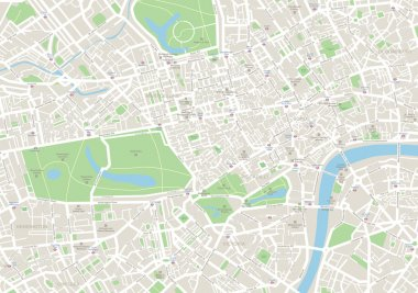 London Map.