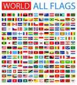 Fotografie All World Vector Flags. 210 items.