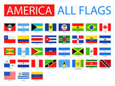 Fotografie Flags of America - Full Vector Collection.