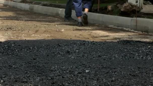 Cesta pro stavební a údržbářské práce