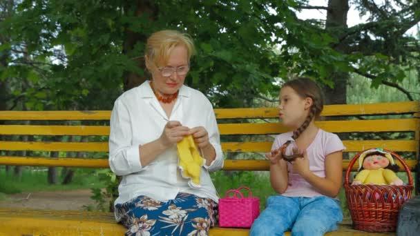 Rodinná řeč v parku