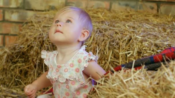 Girl In A Haystack