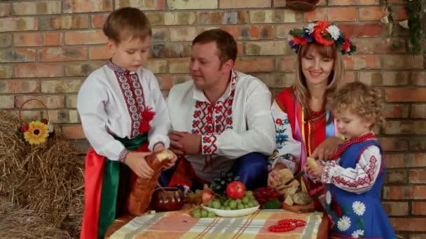 Ukrajinská rodinná večeře