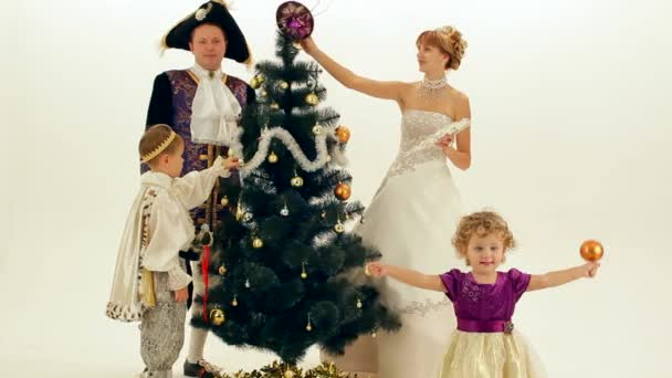 Aristocrats Dress Up The Tree