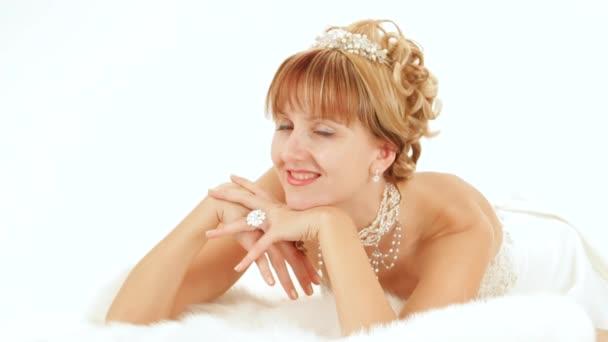 Elegant gekleidete Frau