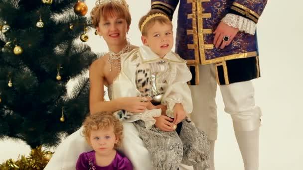 Happy Family Of Nobles