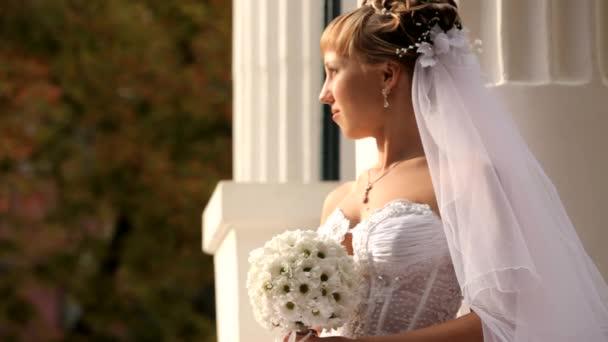 Menyasszony néz a nap