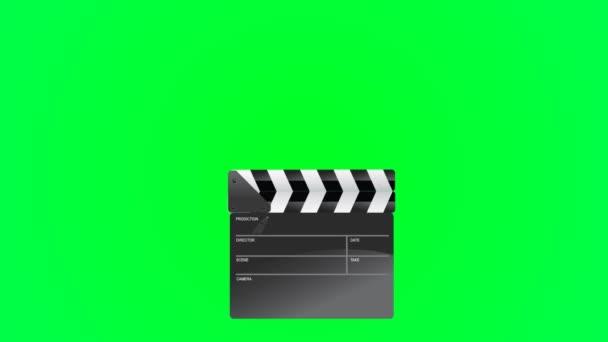 film termelési clapperboard és fil