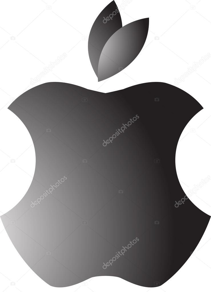 Apple preto e branco vetores de stock ozkangoksen 94286070 apple preto e branco vetor de ozkangoksen thecheapjerseys Images