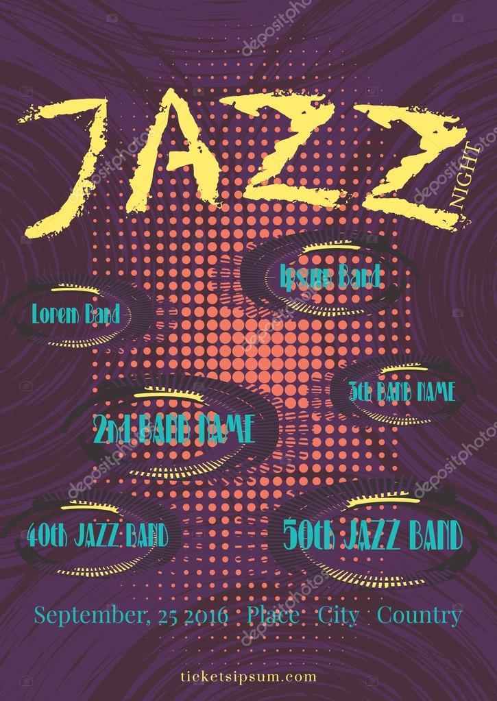 ベクトルのジャズ、ロック、ブル...