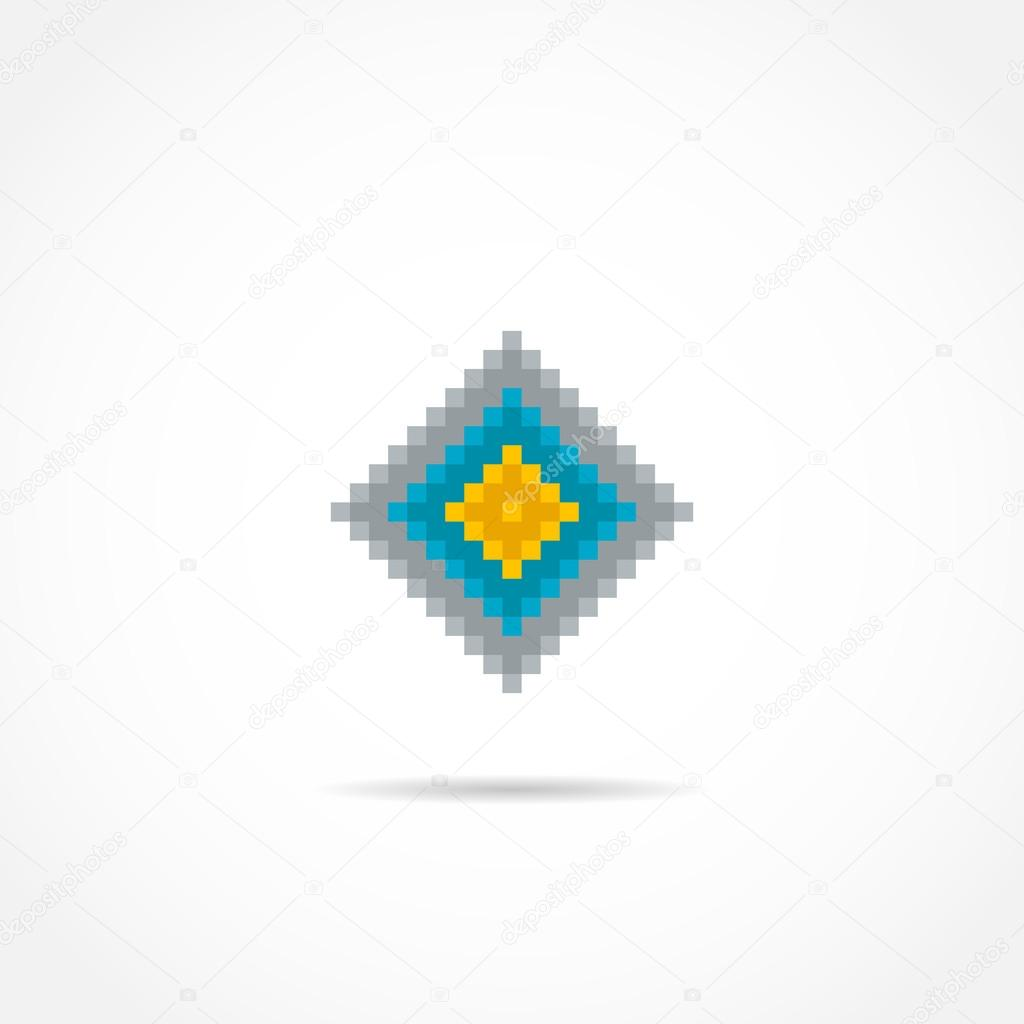 Logo-Vorlage von farbige abstrakte Quadrate — Stockvektor © igoror ...