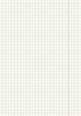 a piece of paper into small squares. nice background. graph paper illustrator background