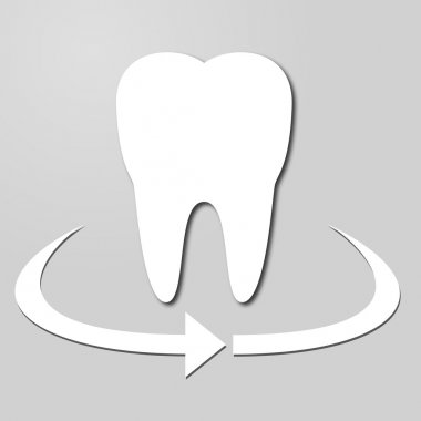 stylish logo protection tooth