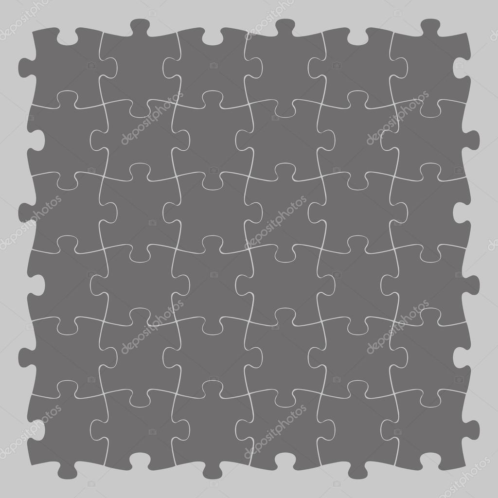 puzzle de fond en couleur grise  u2014 image vectorielle igoror  u00a9  89361010