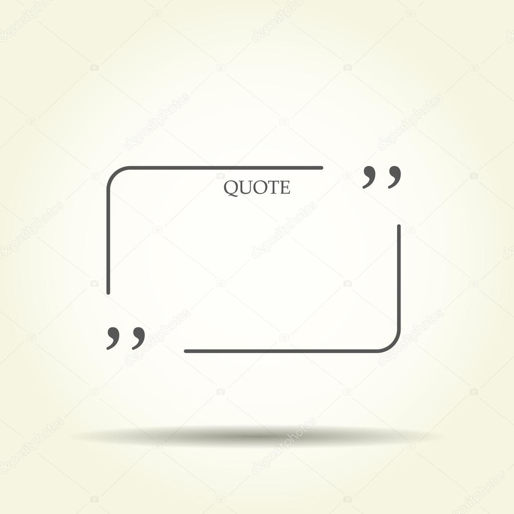 Quote blank template quote bubble empty template circle business quote blank template quote bubble empty template circle business card template paper accmission Images