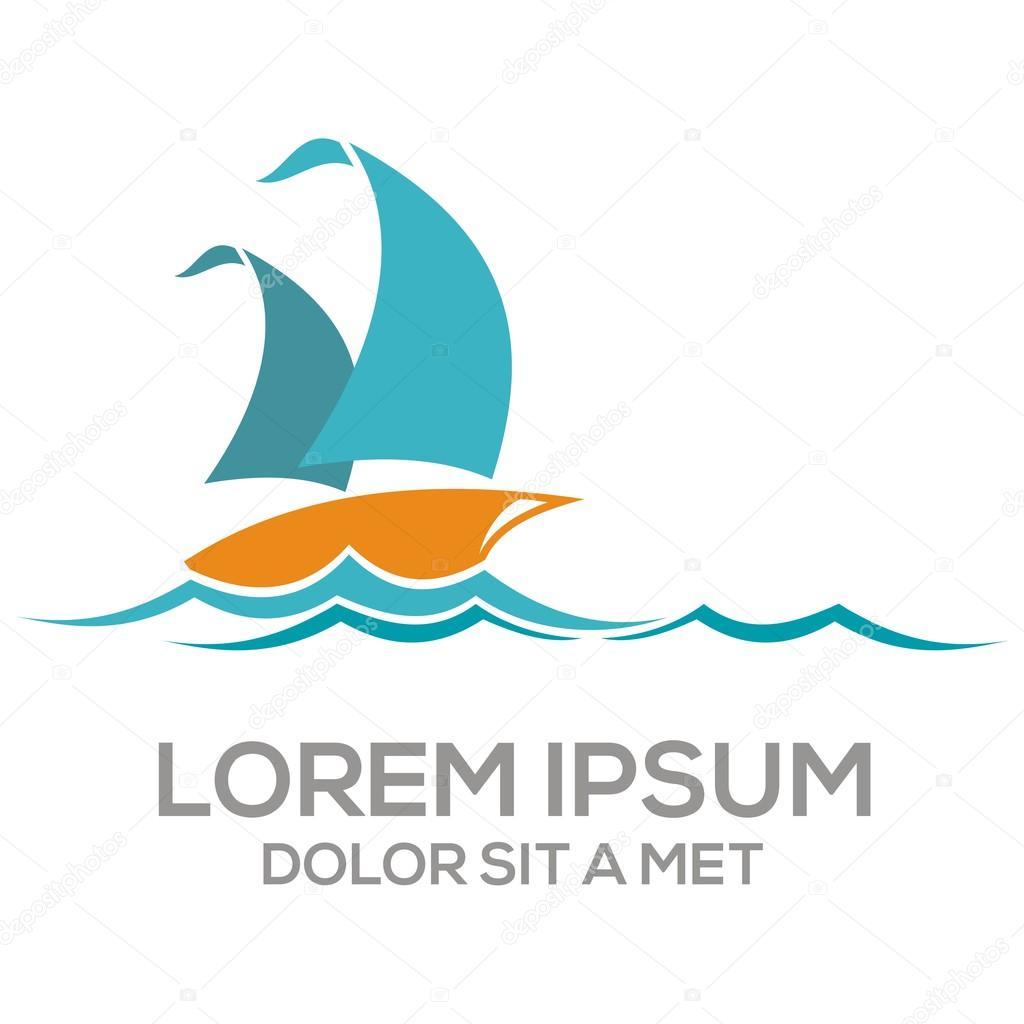 Boat icon vector