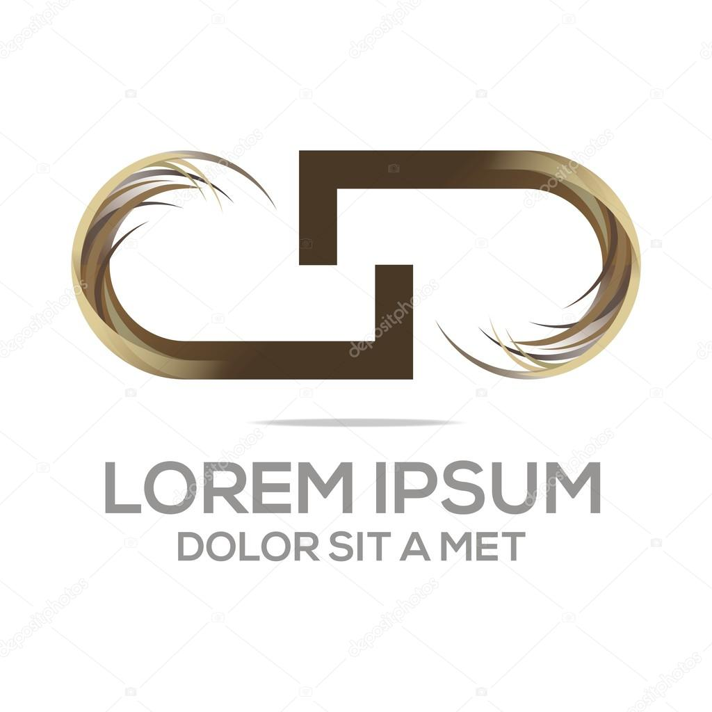 Abstract Logo Icon J Initial Font Emblem Design Vector Stock