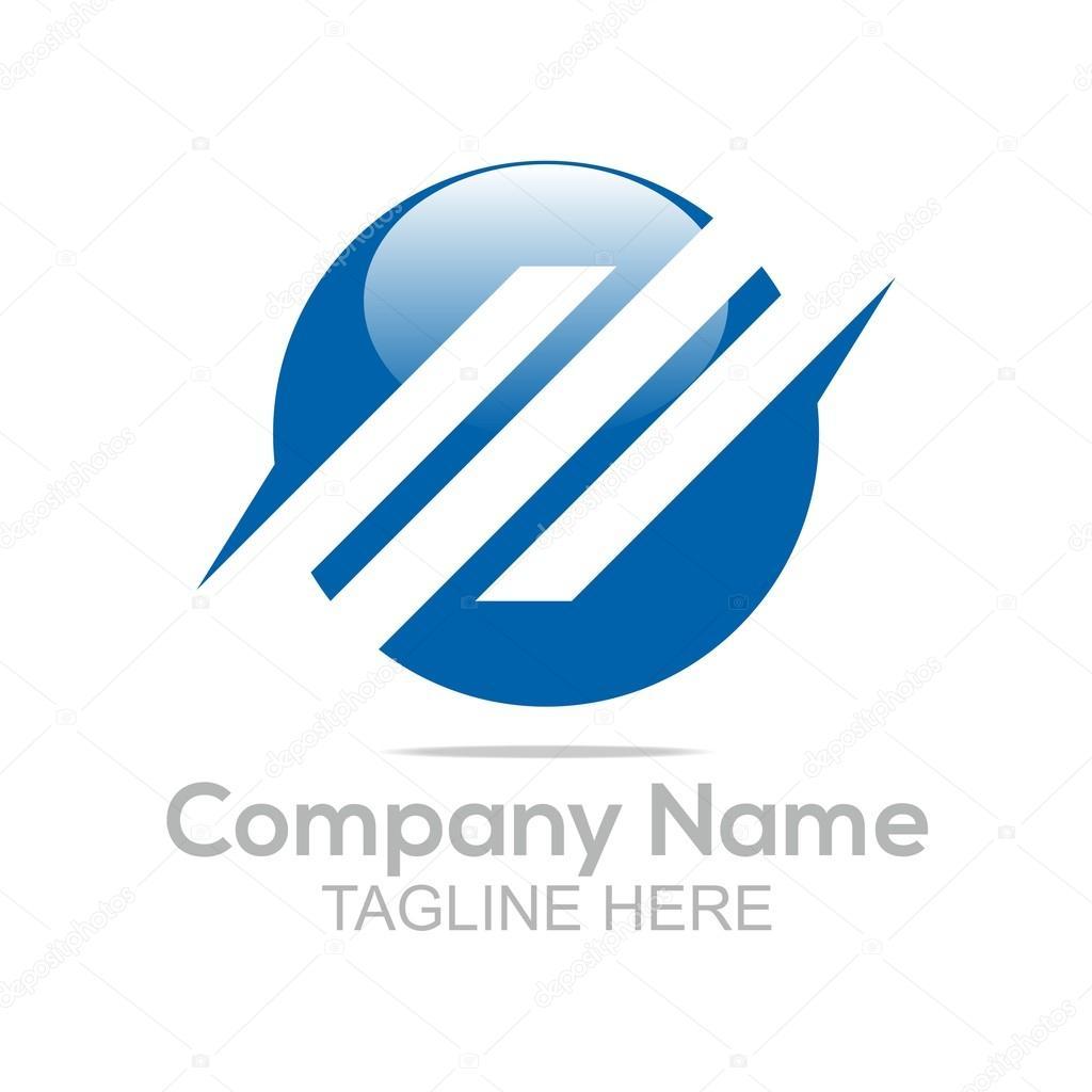 Logo design company name hexagon line blue symbol icon abstract abstract company name business hexagon symbol finance corporate design graphic idea creative element elegant shape vector buycottarizona