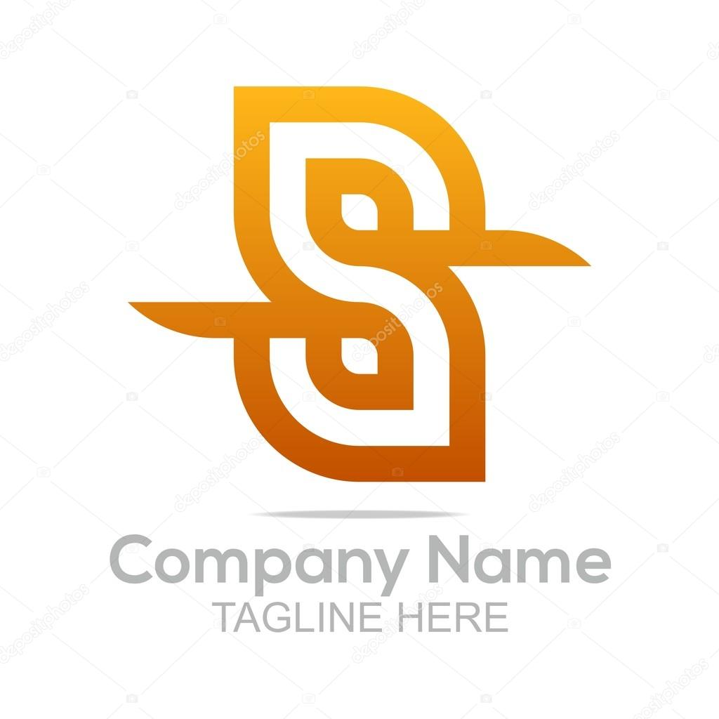 Logo design company name letter s shapes symbol icon abstarct abstract logo element elegant letter alphabet symbol design sign shape icon idea vector concept business template company name corporation buycottarizona