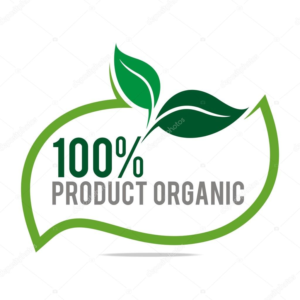 Logo natural product organic healthy garden design vector for Logos de jardines