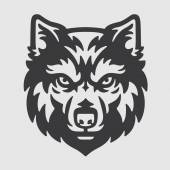 Photo Wolf Head Logo Mascot Emblem