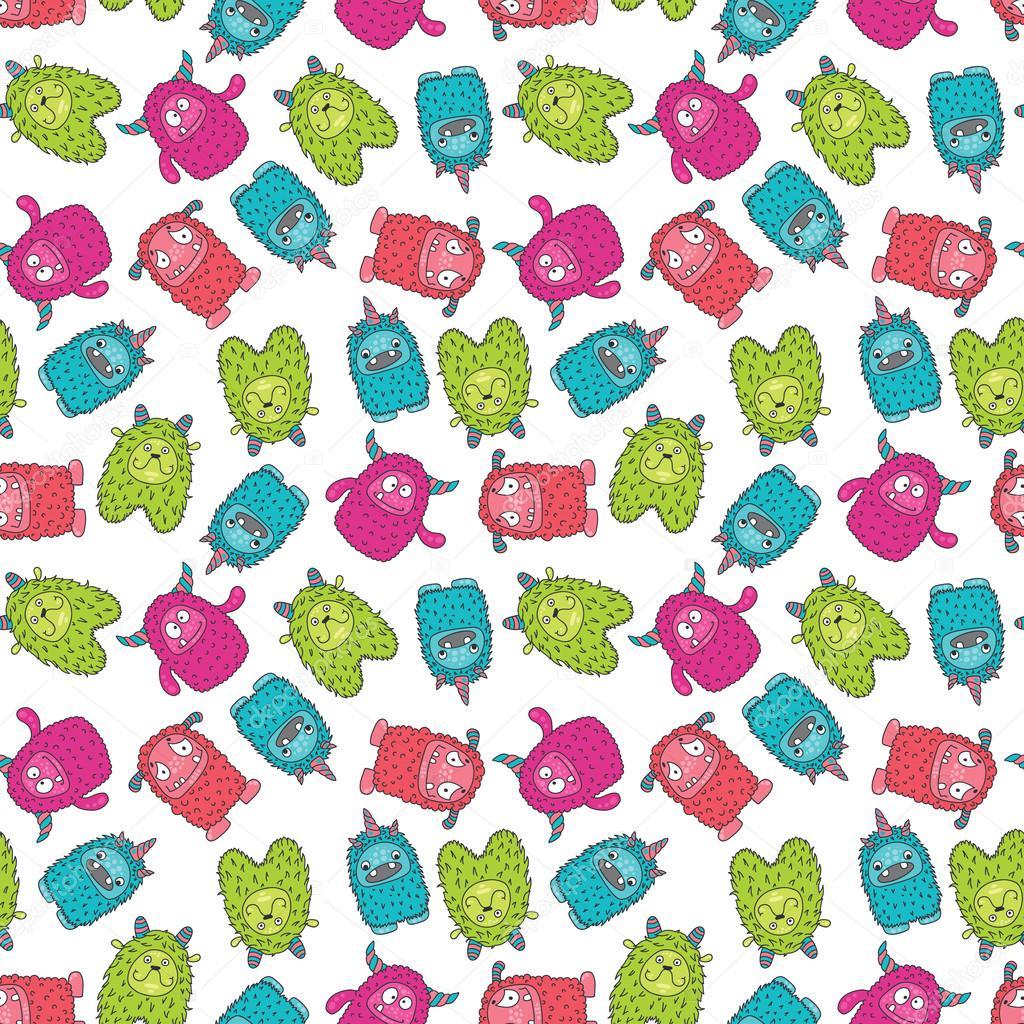 monster pattern 3