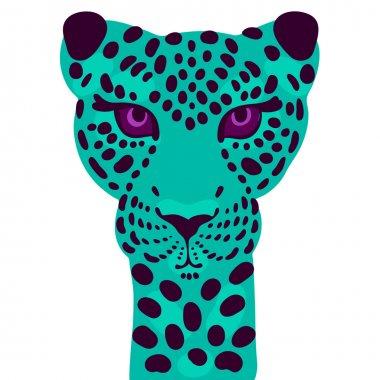 Print leopard