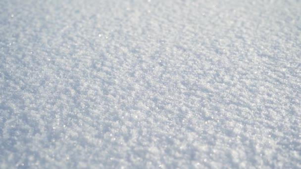Panorama textura bílého zimního sněhu