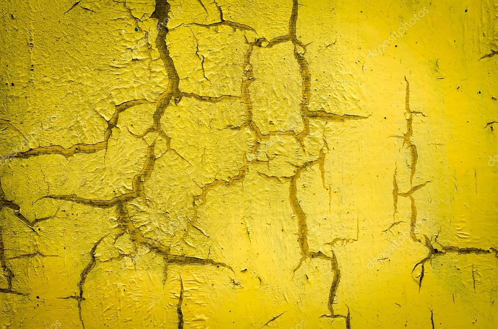 Wall painted in yellow — Stock Photo © IrKiev #83416696