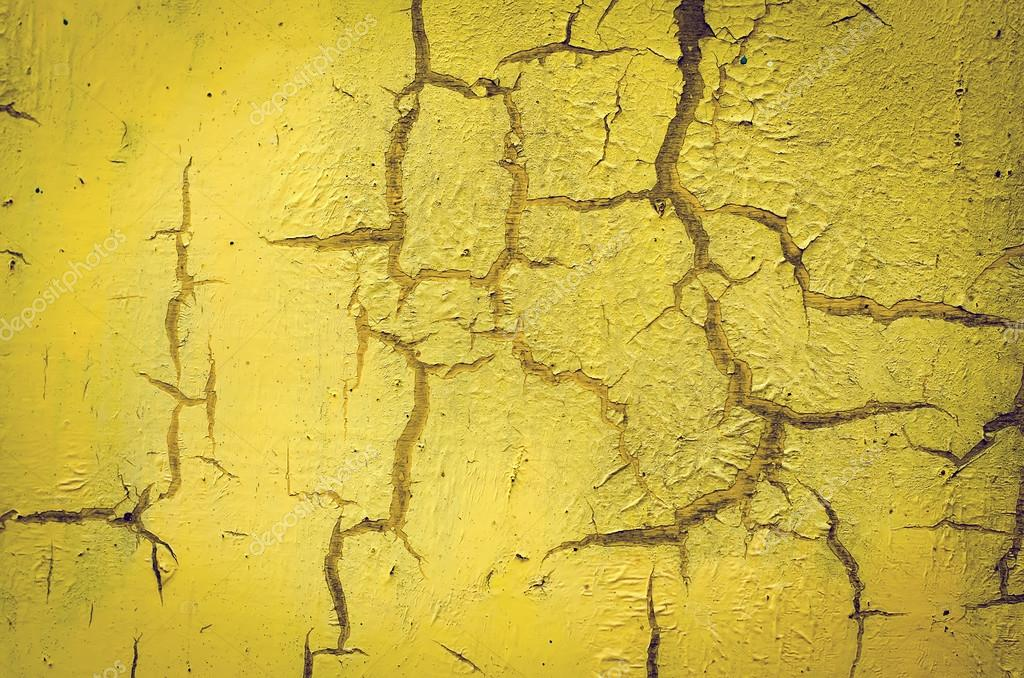 Wall painted in yellow — Stock Photo © IrKiev #84012606