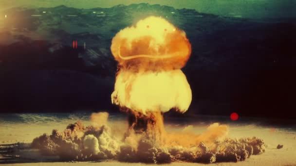 Nuclear Detonation Mushroom Cloud