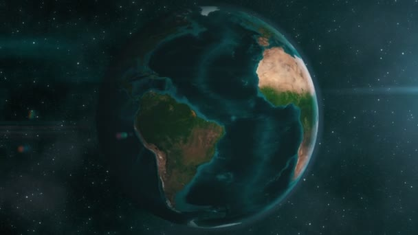 Earth zoom do Afriky