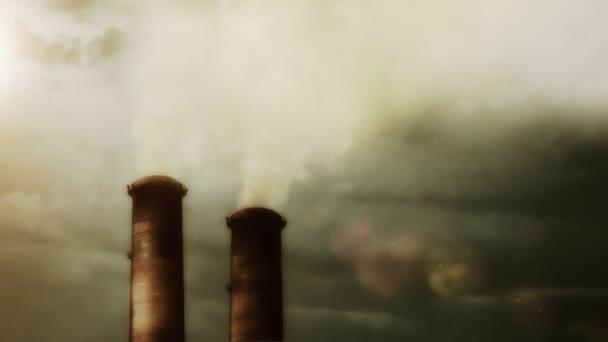 Velké elektrárny s kouřem