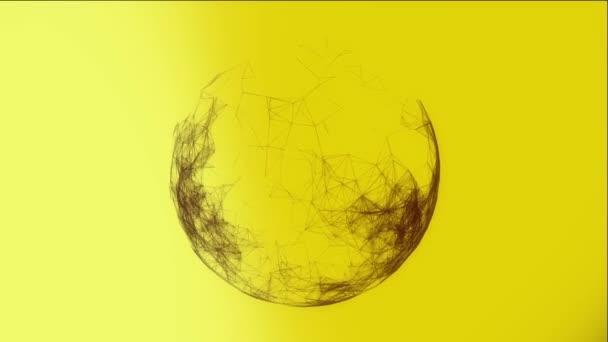 Modern sárga-fekete háttér
