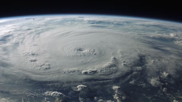 hurricane as seen from space